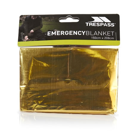 Trespass Foil X Emergency Blanket