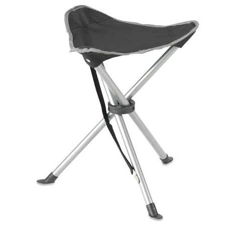 Gelert Black Tripod Stool