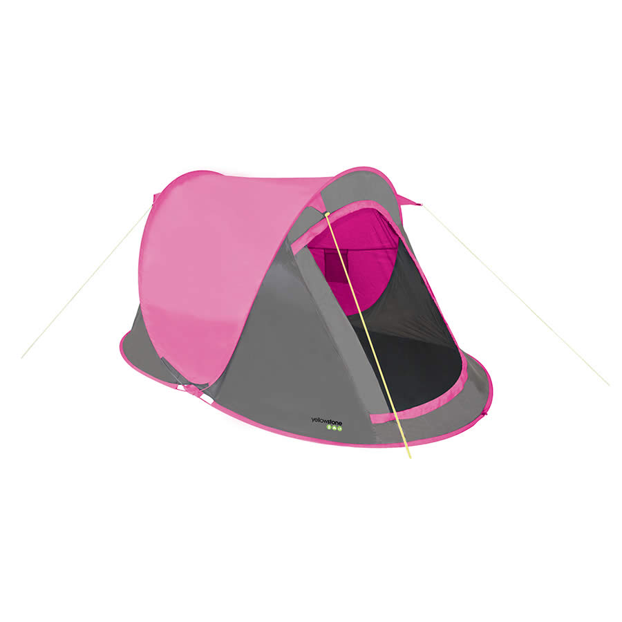 Yellowstone Fast Pitch 2 Tent - Pink