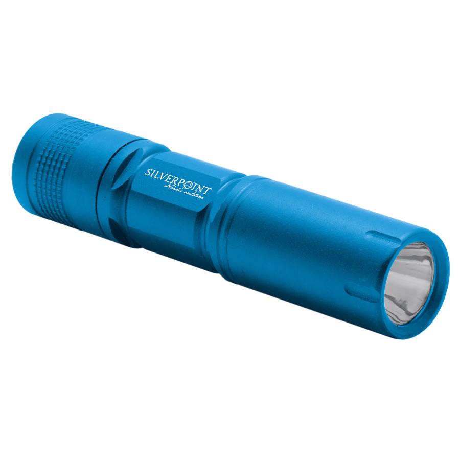 Silverpoint Blue Firefly LED Torch