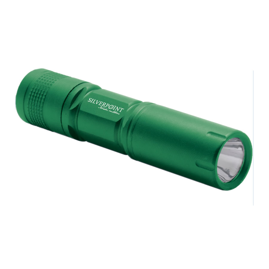 Silverpoint Green Firefly LED Torch