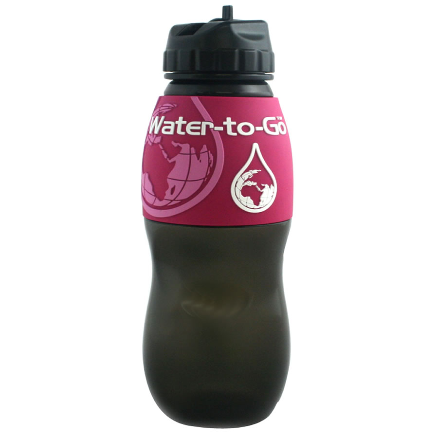 Water-to-Go 75cl Water Bottle - Pink