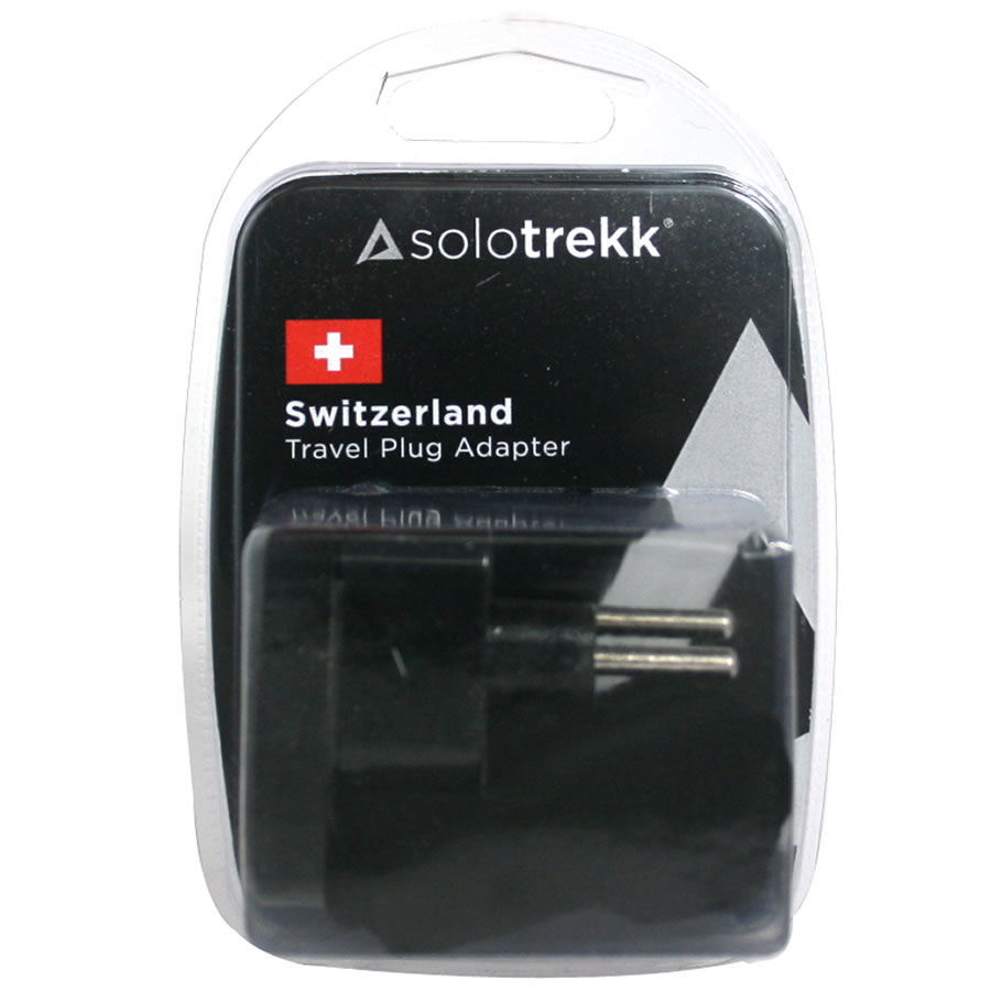 Solotrekk Switzerland Travel Plug Adapter