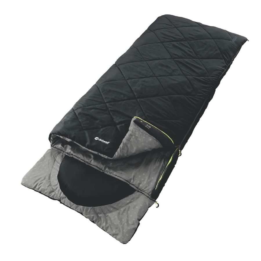 Outwell Contour Sleeping Bag - Black