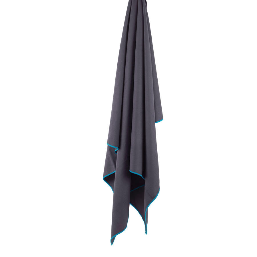 Lifeventure Softfibre Lite Giant Trek Towel - Grey