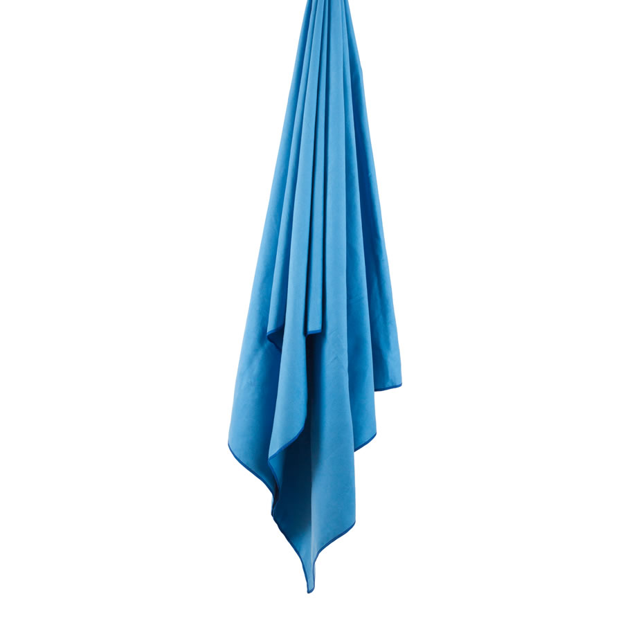 Lifeventure Blue Softfibre Trek Towel - Large