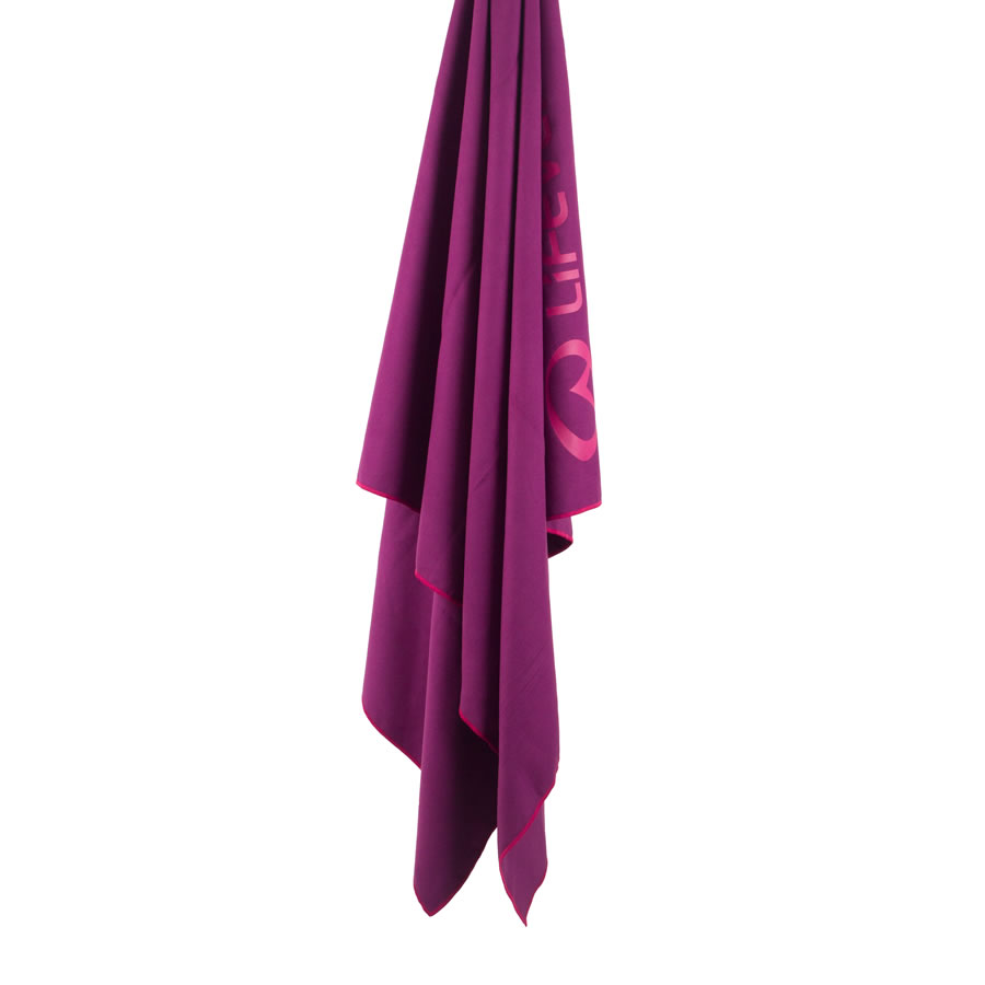 Lifeventure Softfibre Lite XL Trek Towel - Purple