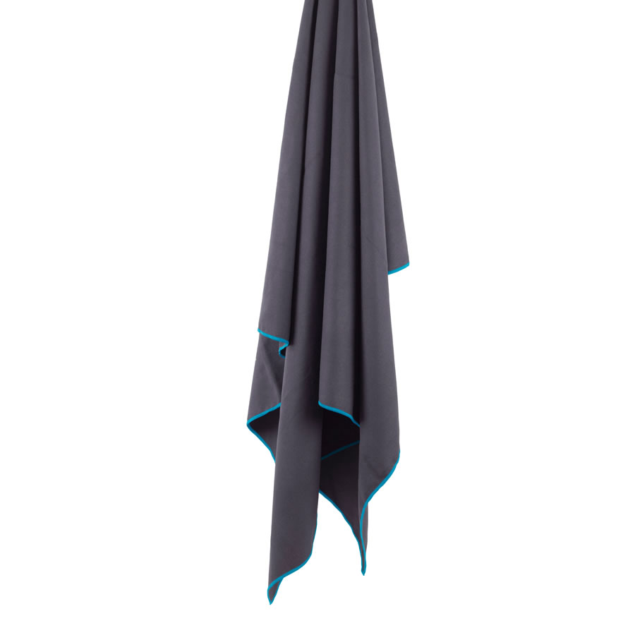 Lifeventure Softfibre Lite XL Trek Towel - Grey