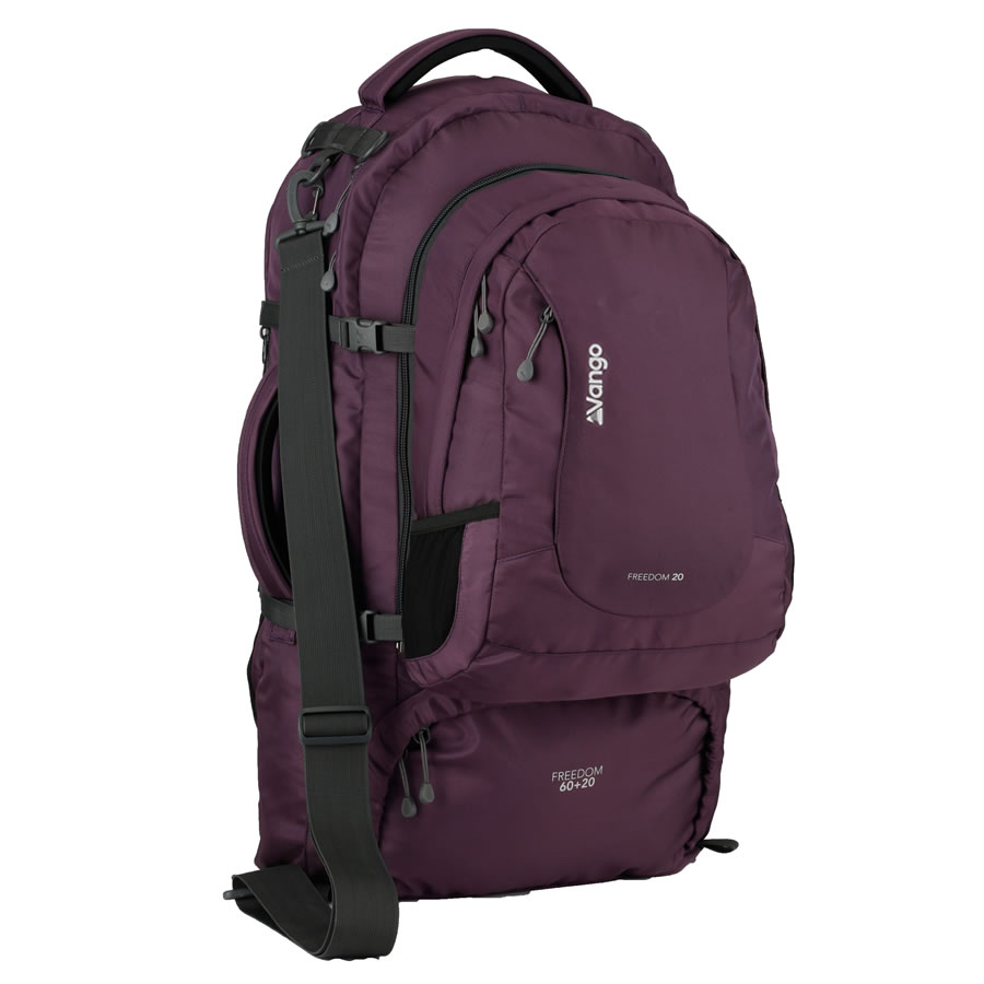 Vango Purple Freedom 60+20  Travel Rucksack
