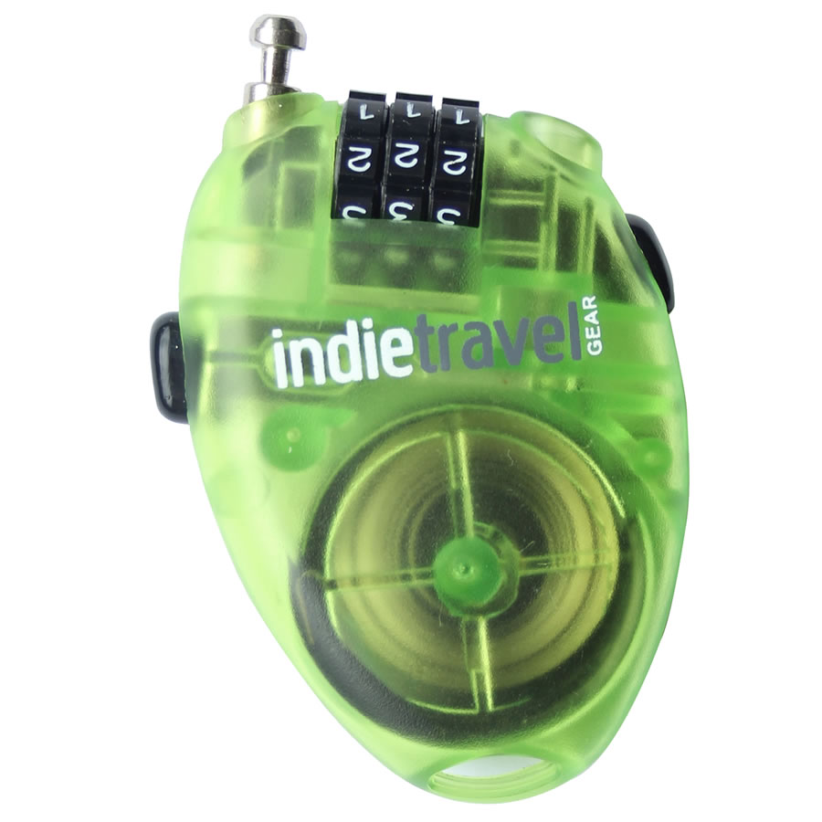 Indie Travel Gear Retractable Cable Lock