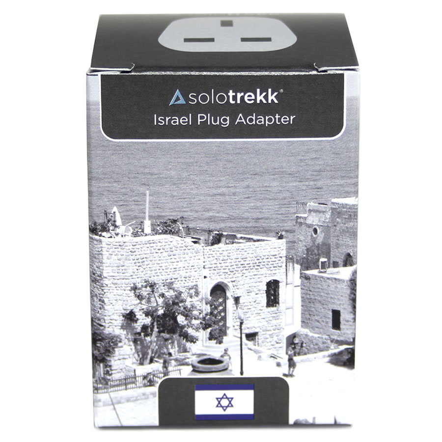 Solotrekk Israel Travel Plug Adapter