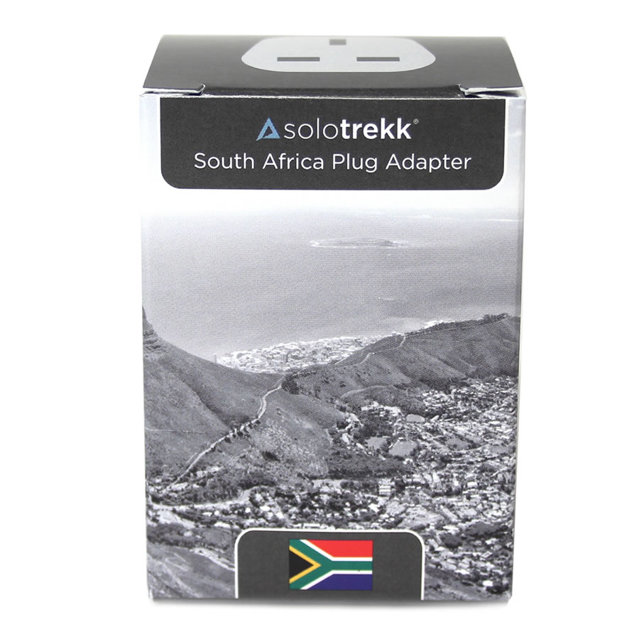 Solotrekk South Africa Travel Plug Adapter