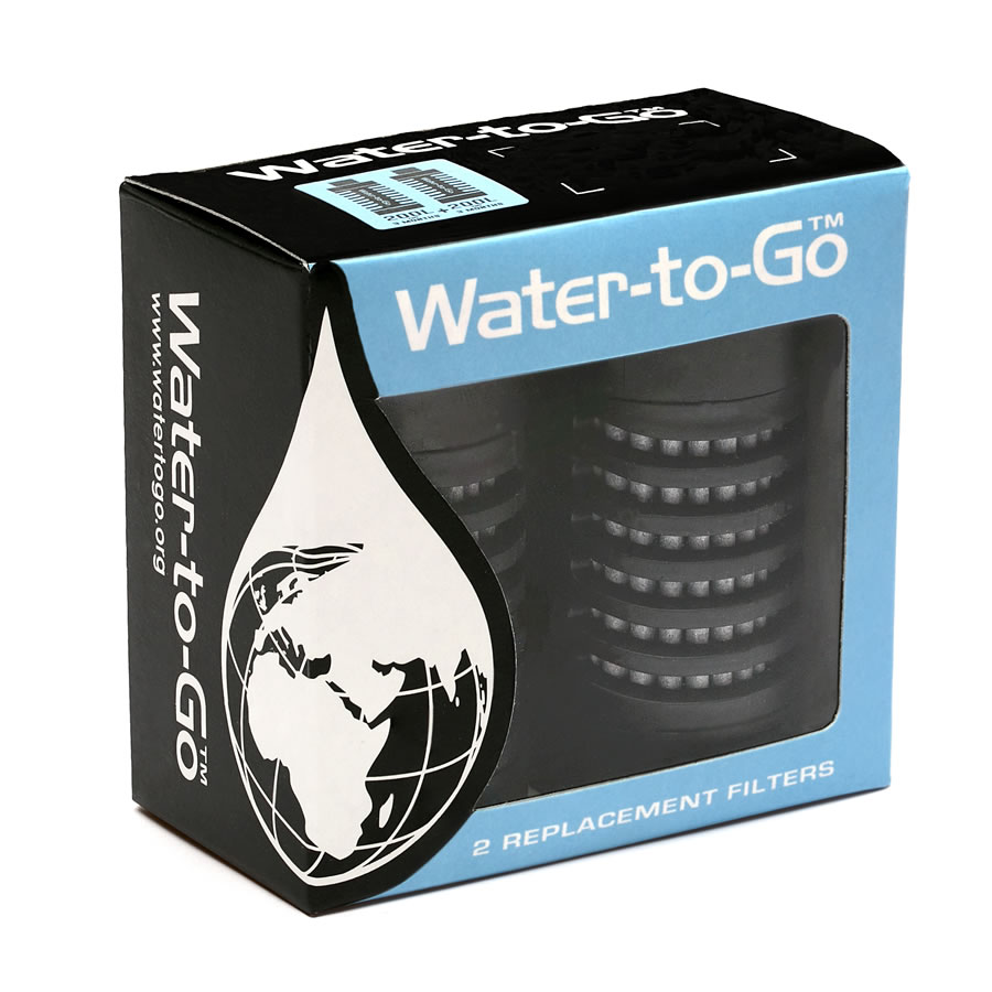 Water-to-Go Bottle 75cl Replacement Filters
