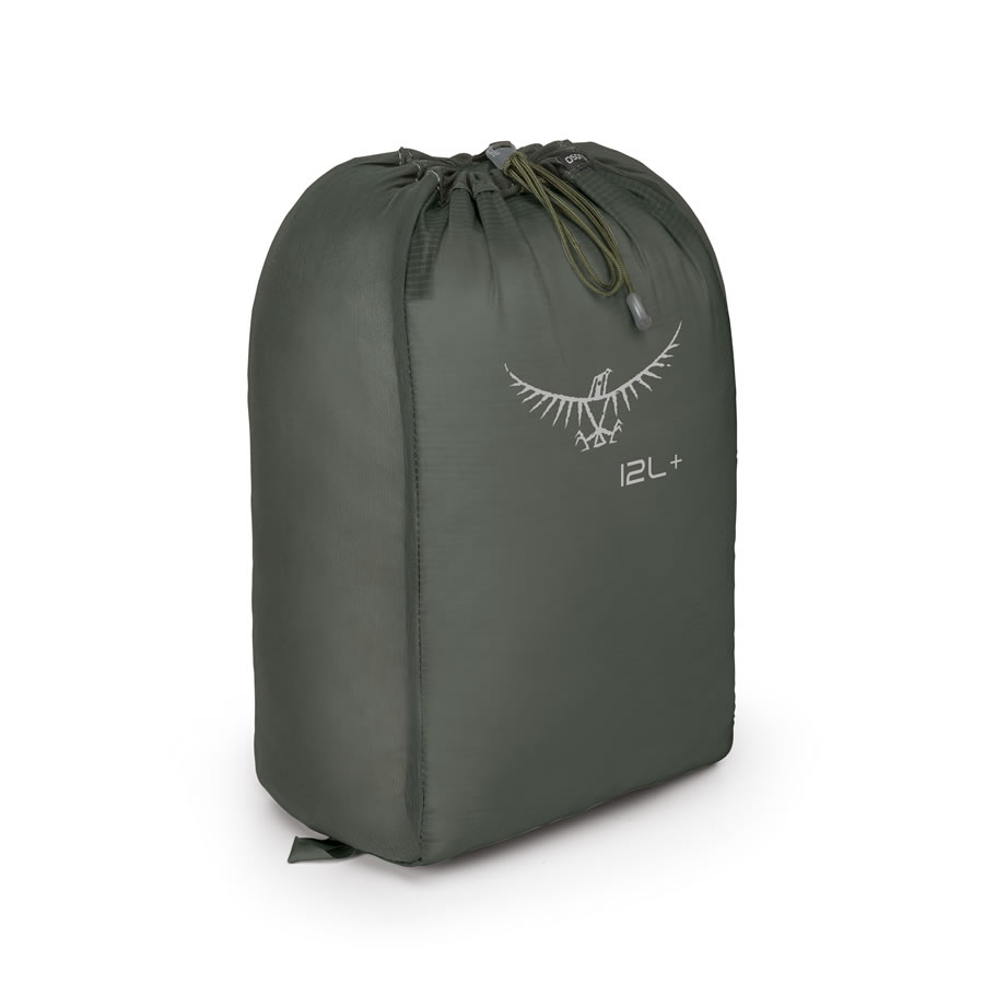 Osprey Ultralight Stretch Stuff Sack - 12L+ - Shadow Grey