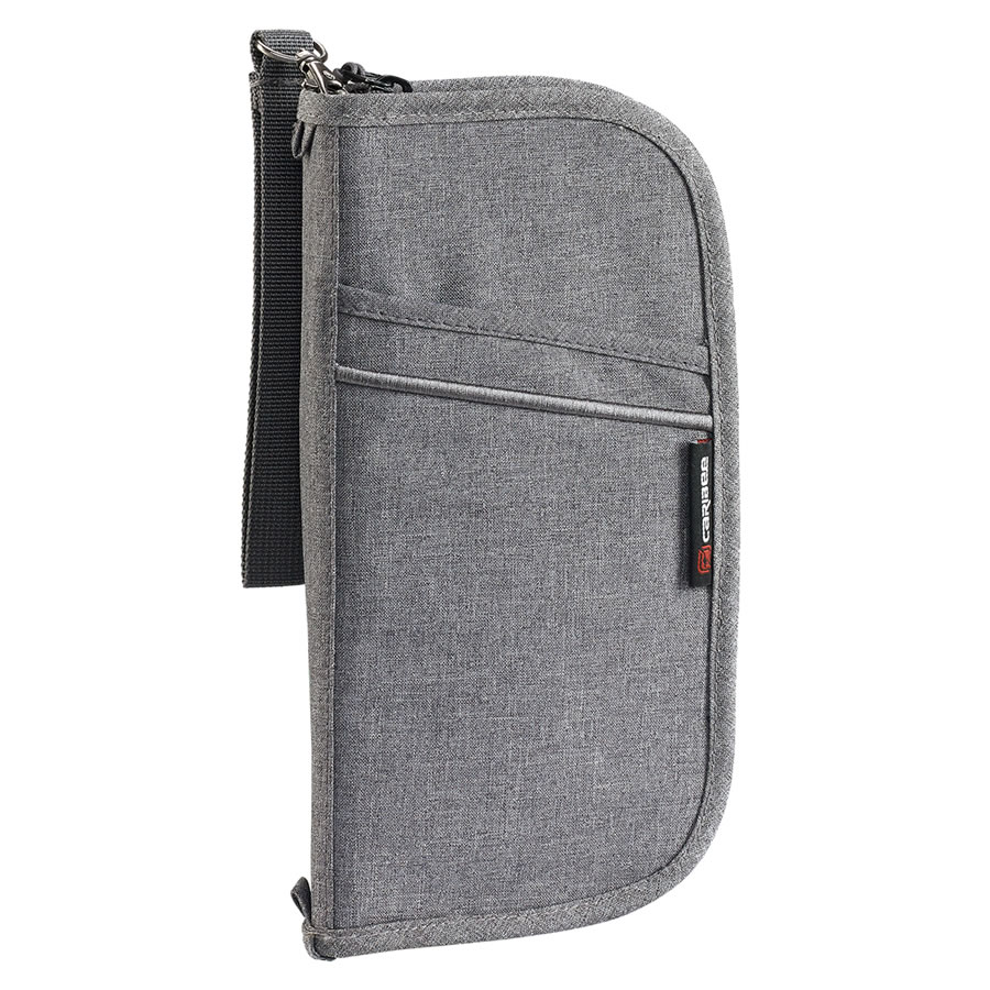 Caribee Document Wallet - Charcoal
