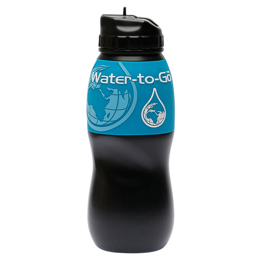 Water-to-Go 75cl Water Bottle - Blue