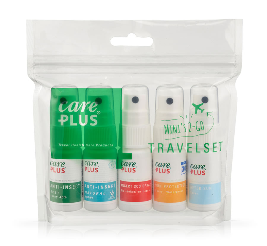 Care Plus Travel Spray Set x 5