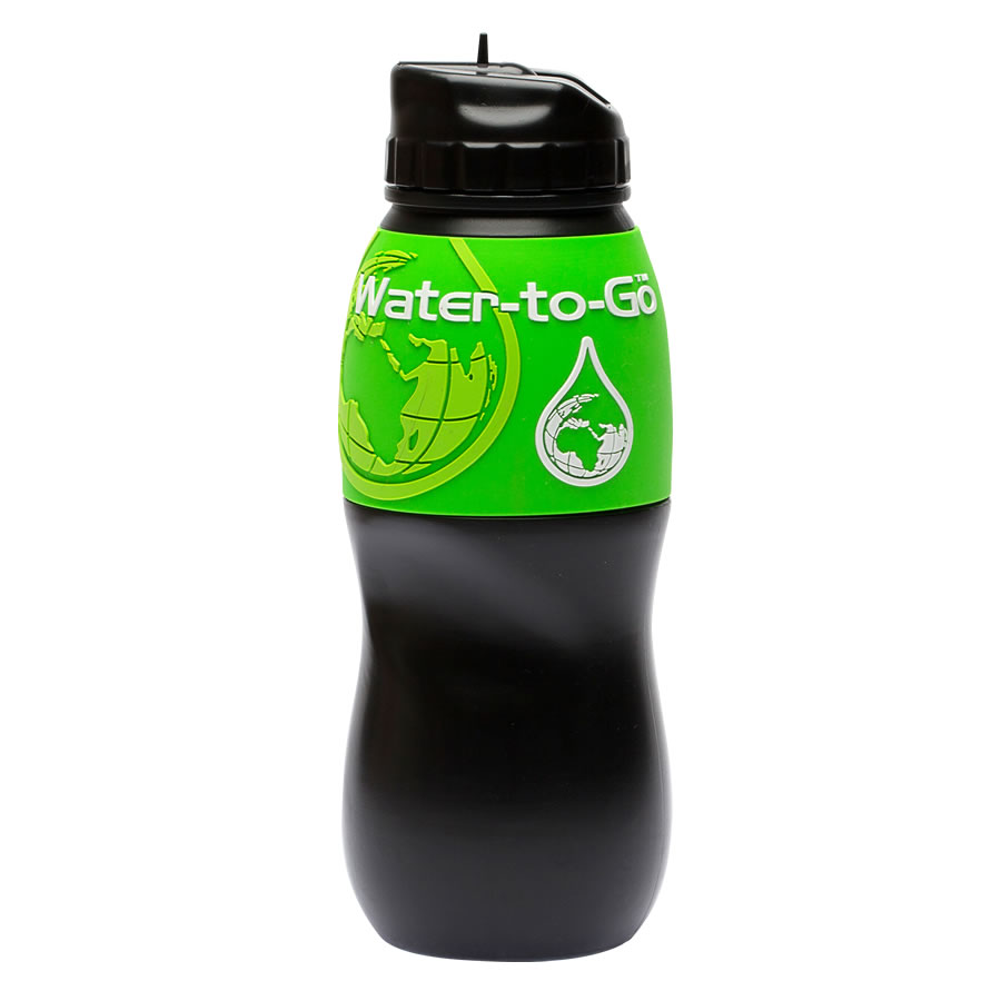 Water-to-Go 75cl Water Bottle - Green