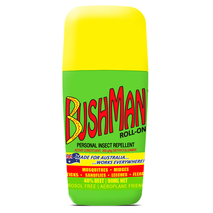 Bushman 40% Deet Insect Repellent Roll-On