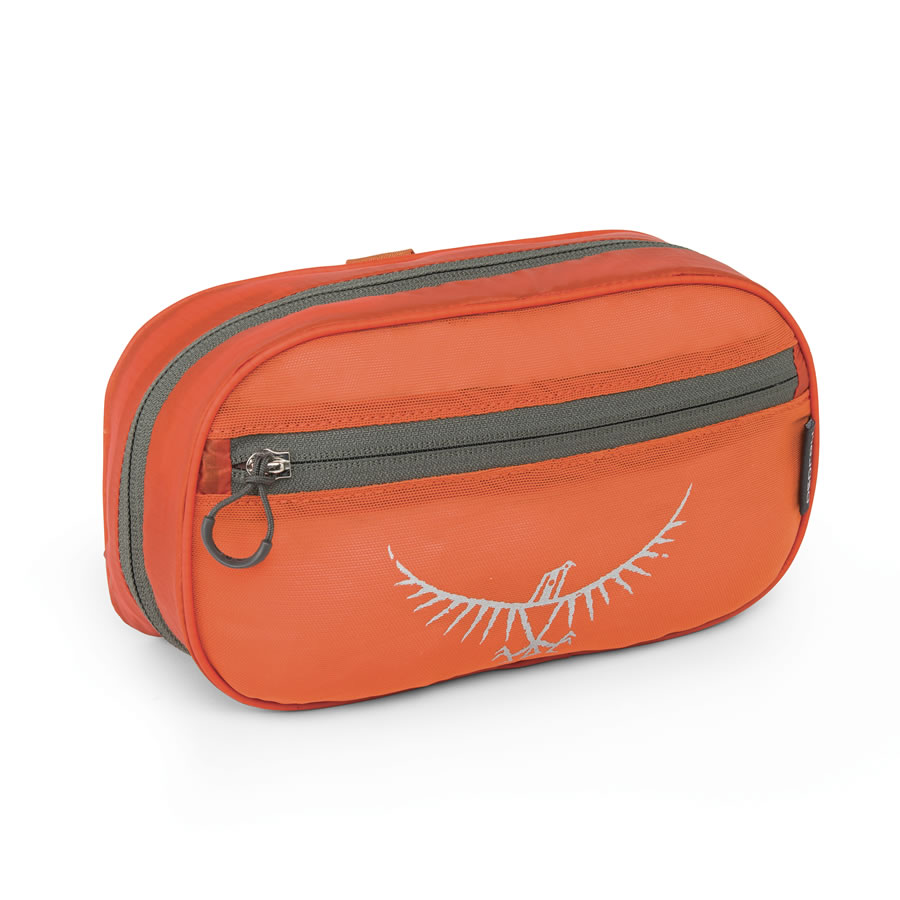 Osprey Ultralight Washbag Zip - Poppy Orange