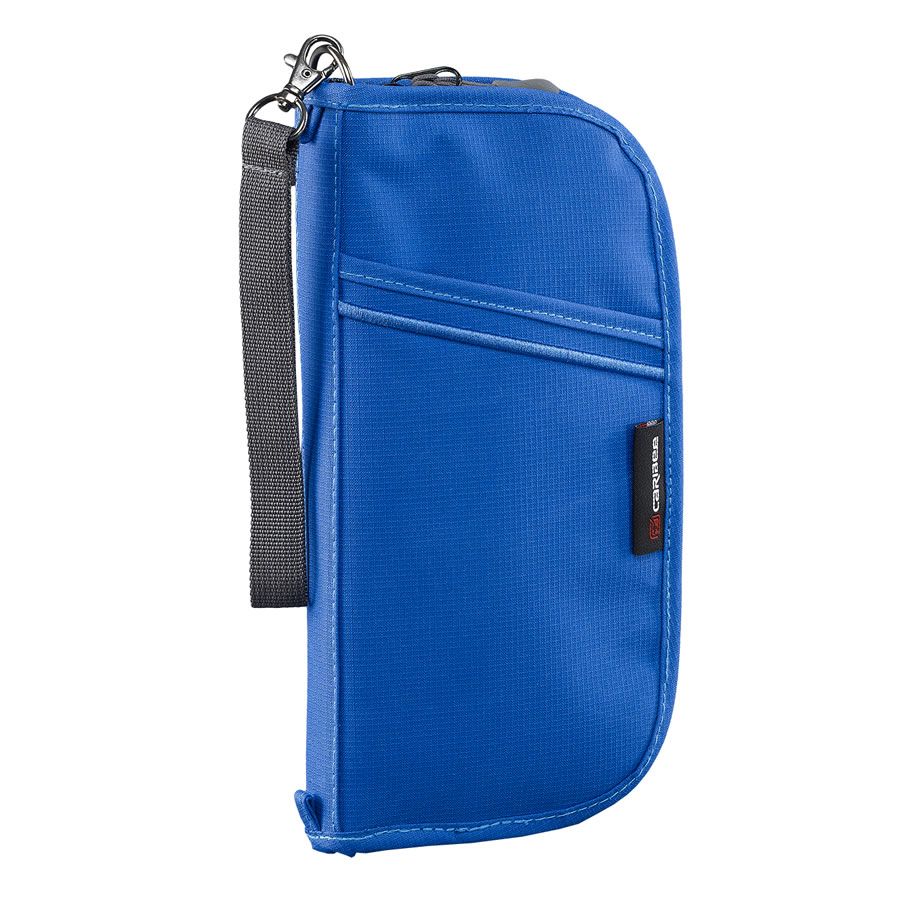 Caribee Document Wallet - Blue