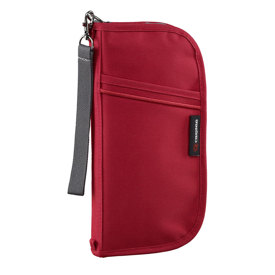 Caribee Document Wallet - Red