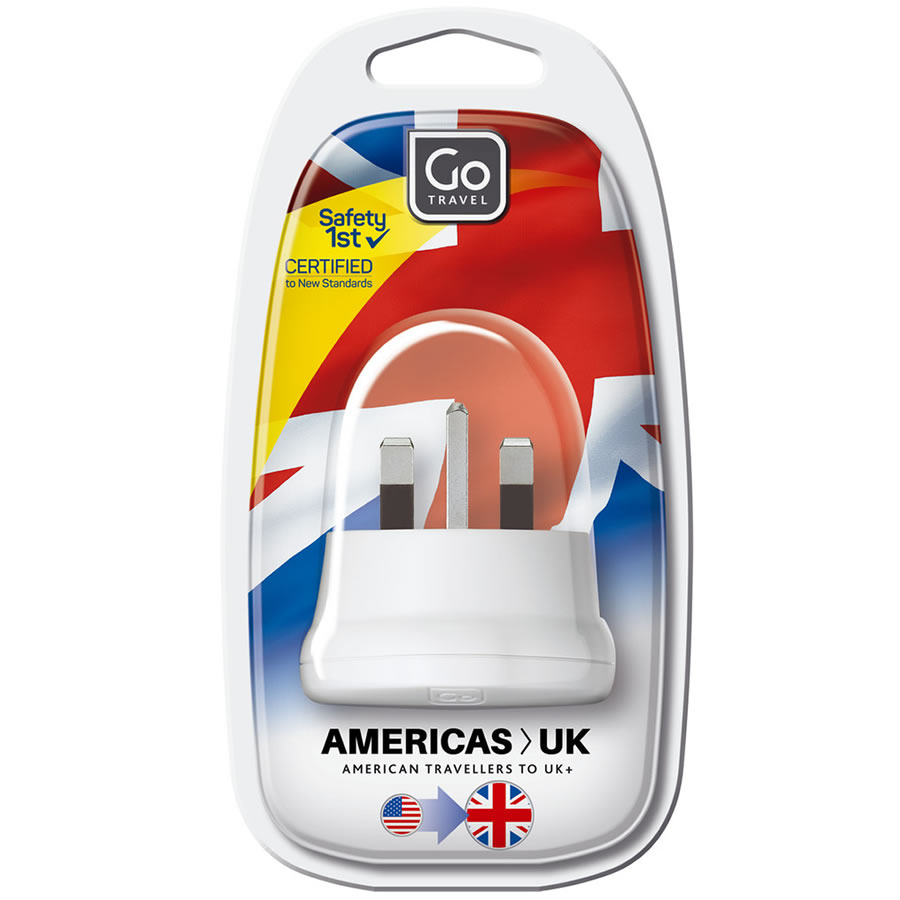 Go Travel USA-UK Adaptor