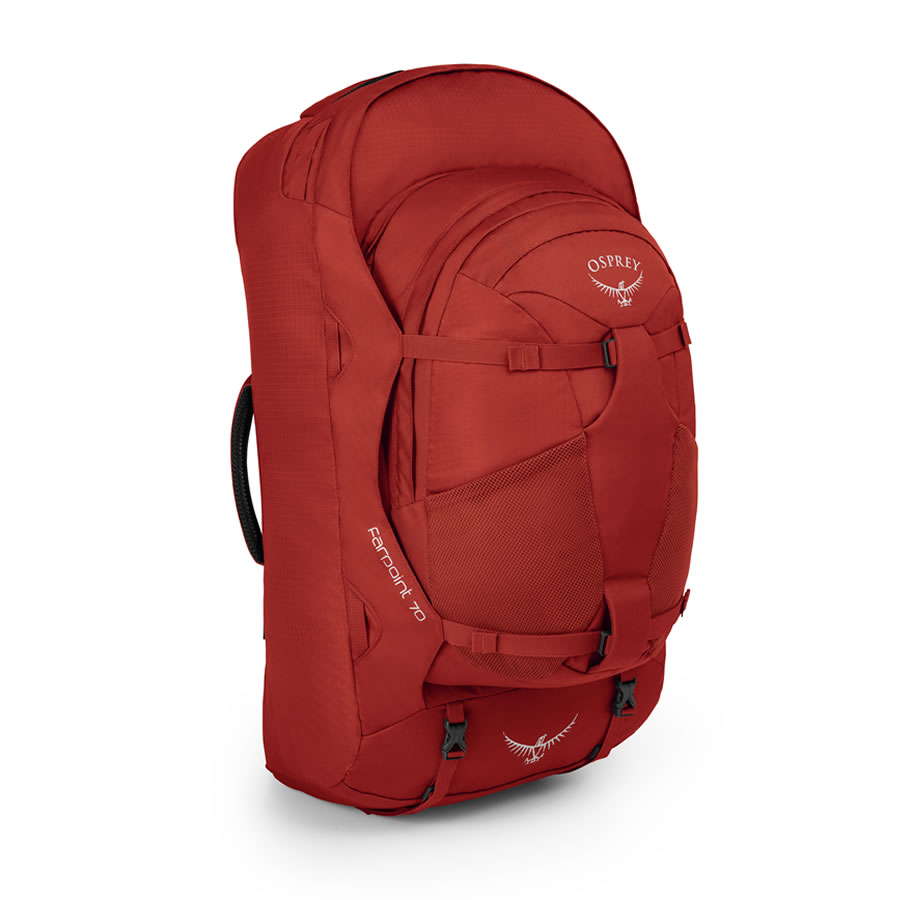 Osprey Farpoint 70 Travel Rucksack - Jasper Red