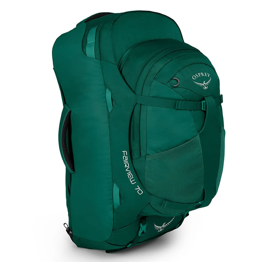 Osprey Fairview 70 Women's Travel Rucksack - Rainforest Green
