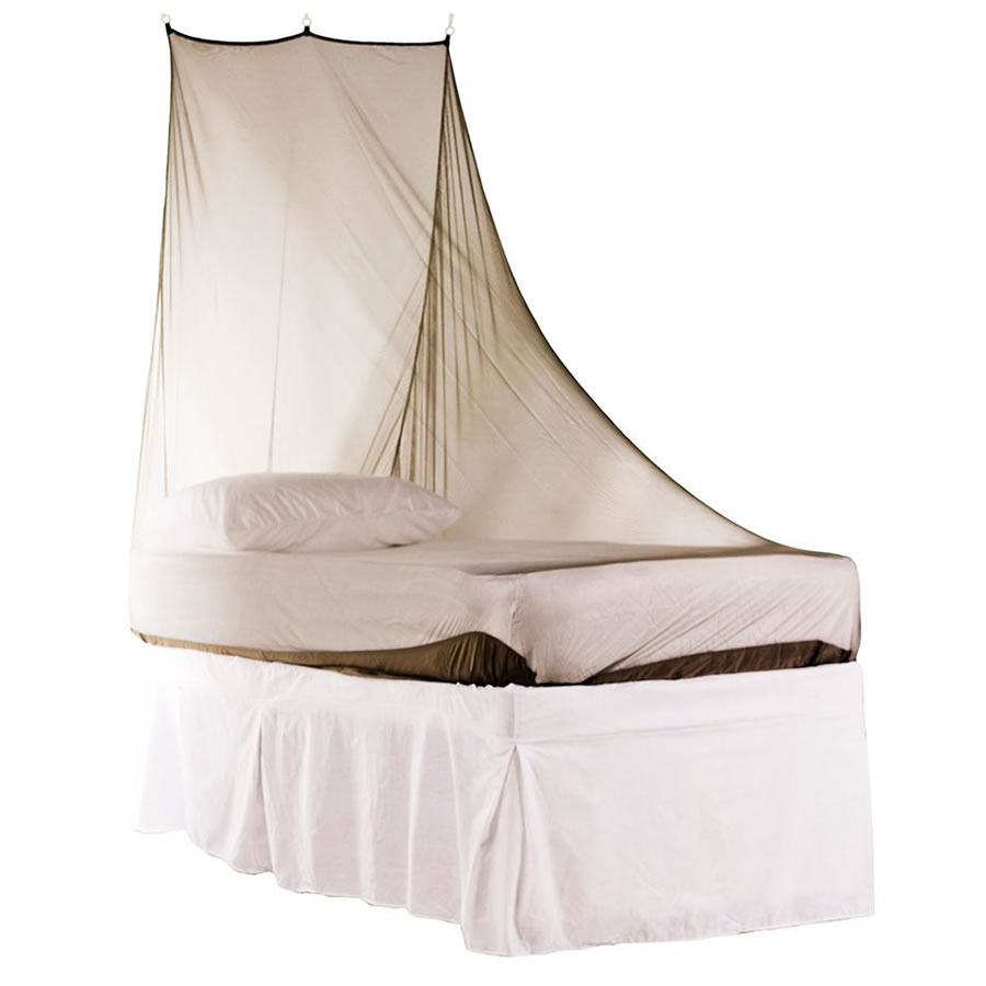 Pyramid Premium Wedge Mosquito Net - Single