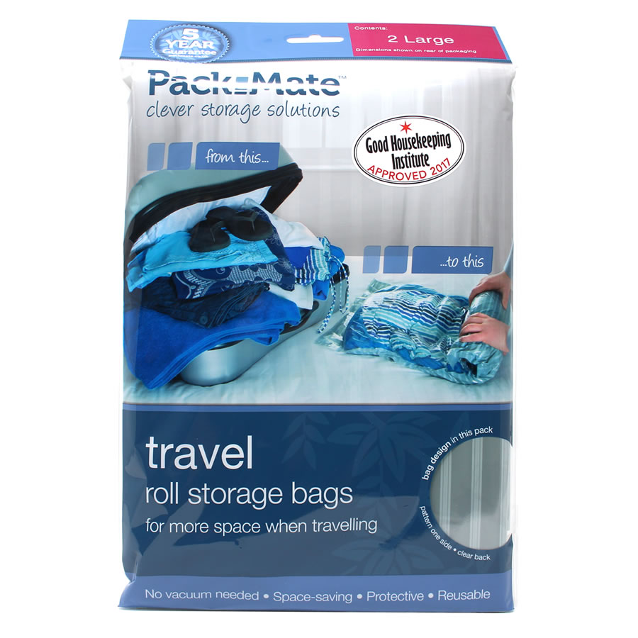 a1057ec15a40 Packmate Travel Roll Storage Bags - Large. Loading zoom
