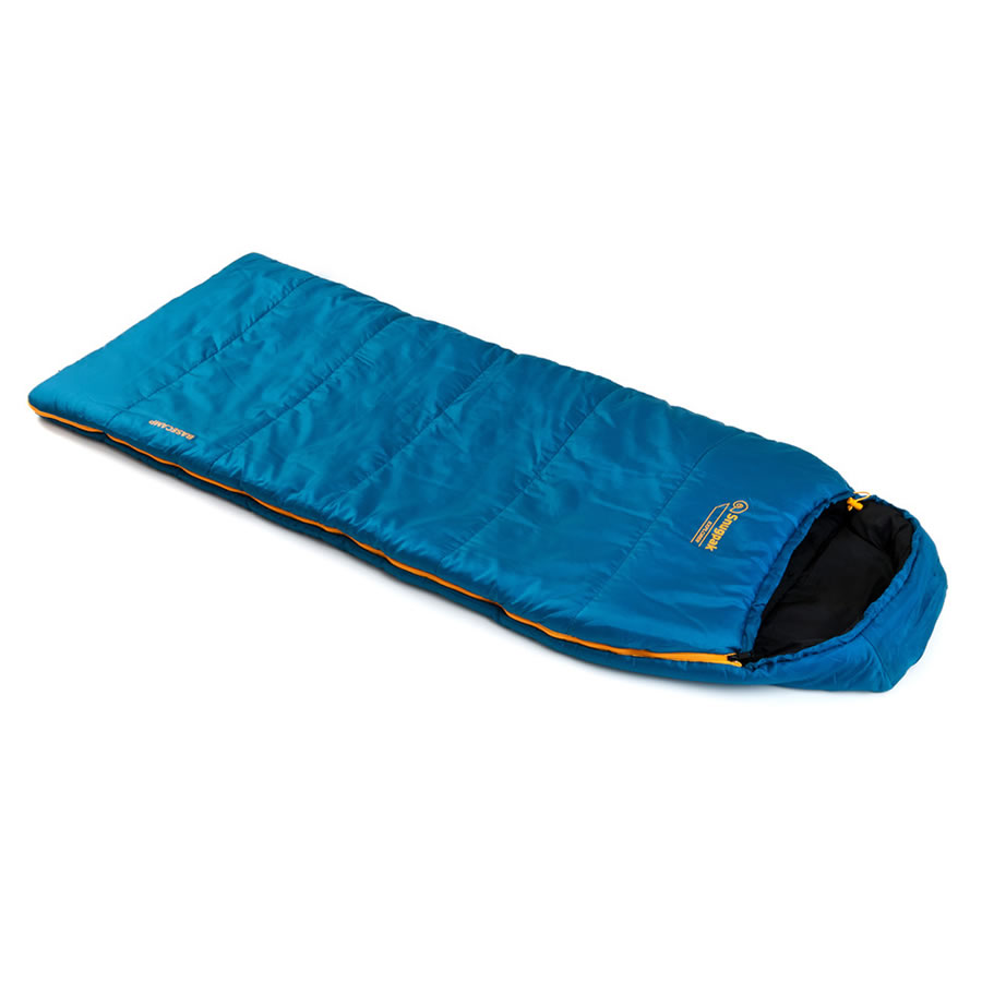 Snugpak Basecamp Explorer Kids Sleeping Bag - Blue