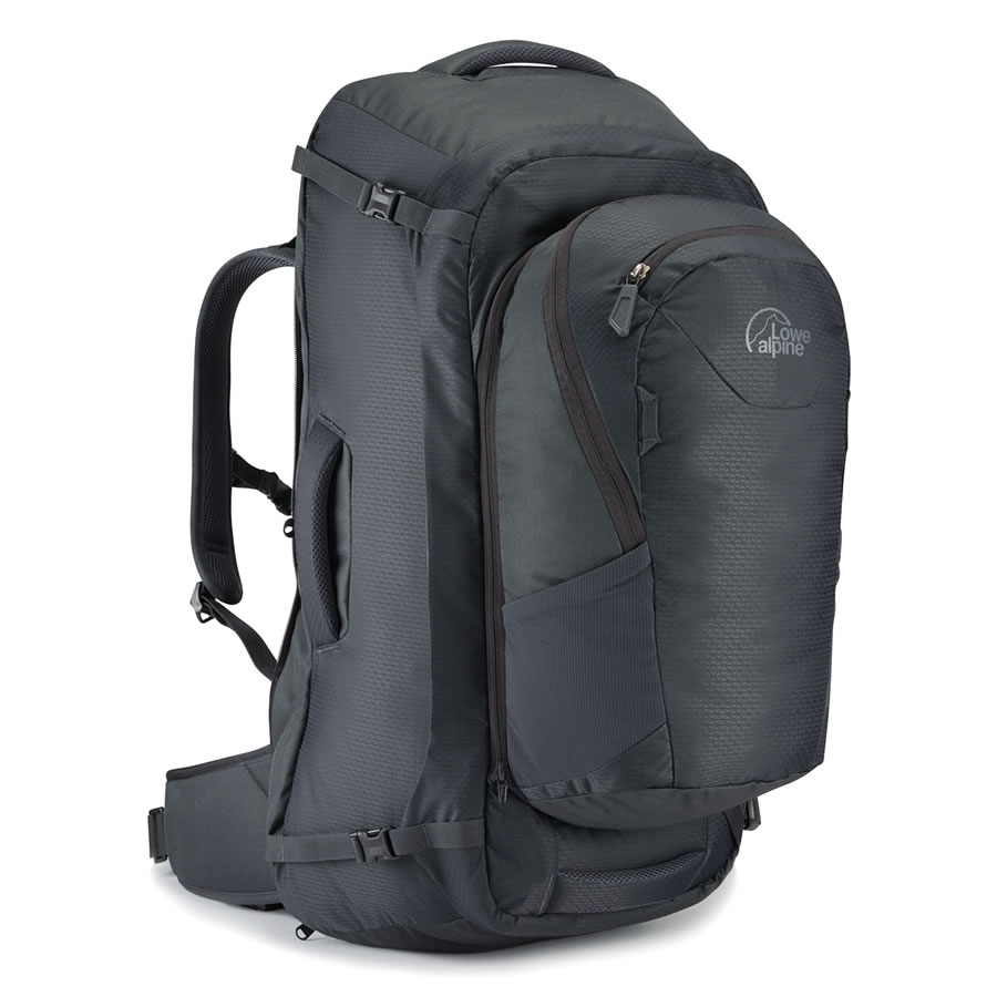 Lowe Alpine AT Voyager 55+15 Travel Pack - Anthracite