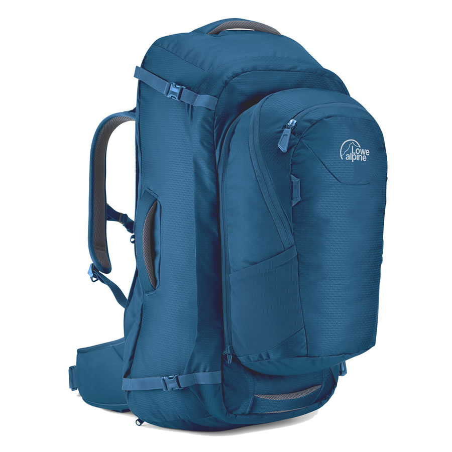 Lowe Alpine AT Voyager 55+15 Travel Pack - Azure