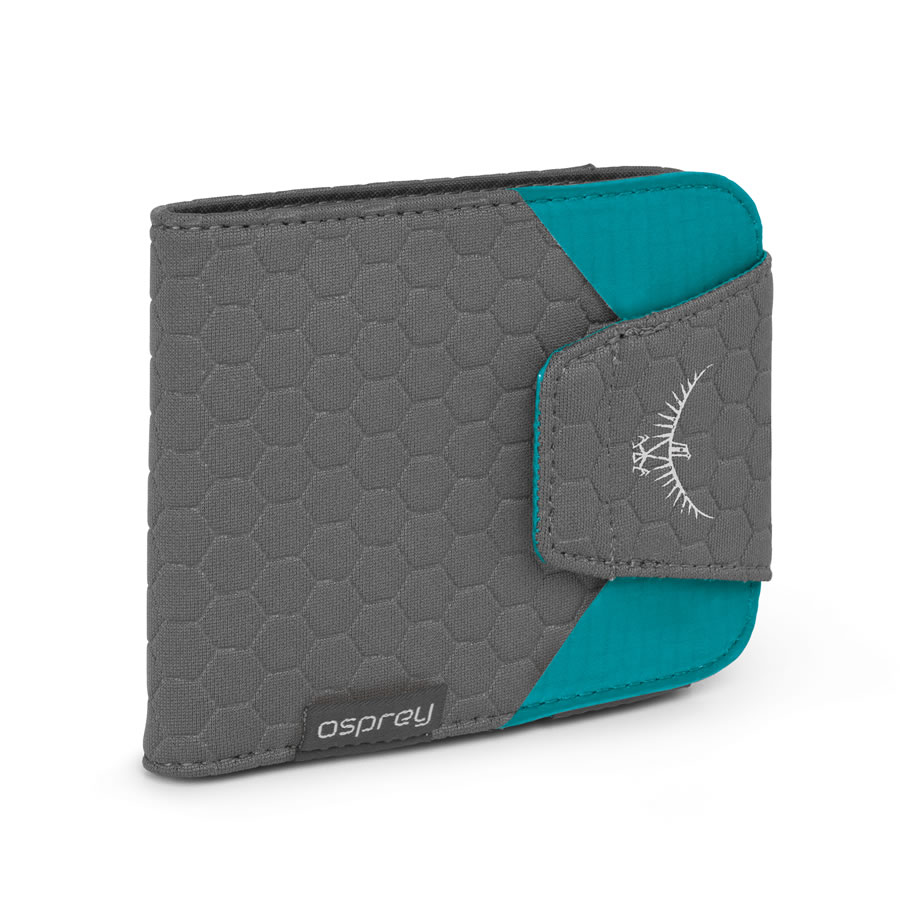 Osprey QuickLock RFID Wallet - Tropic Teal