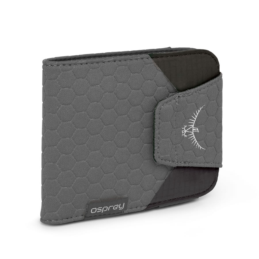 Osprey QuickLock RFID Wallet - Shadow Grey