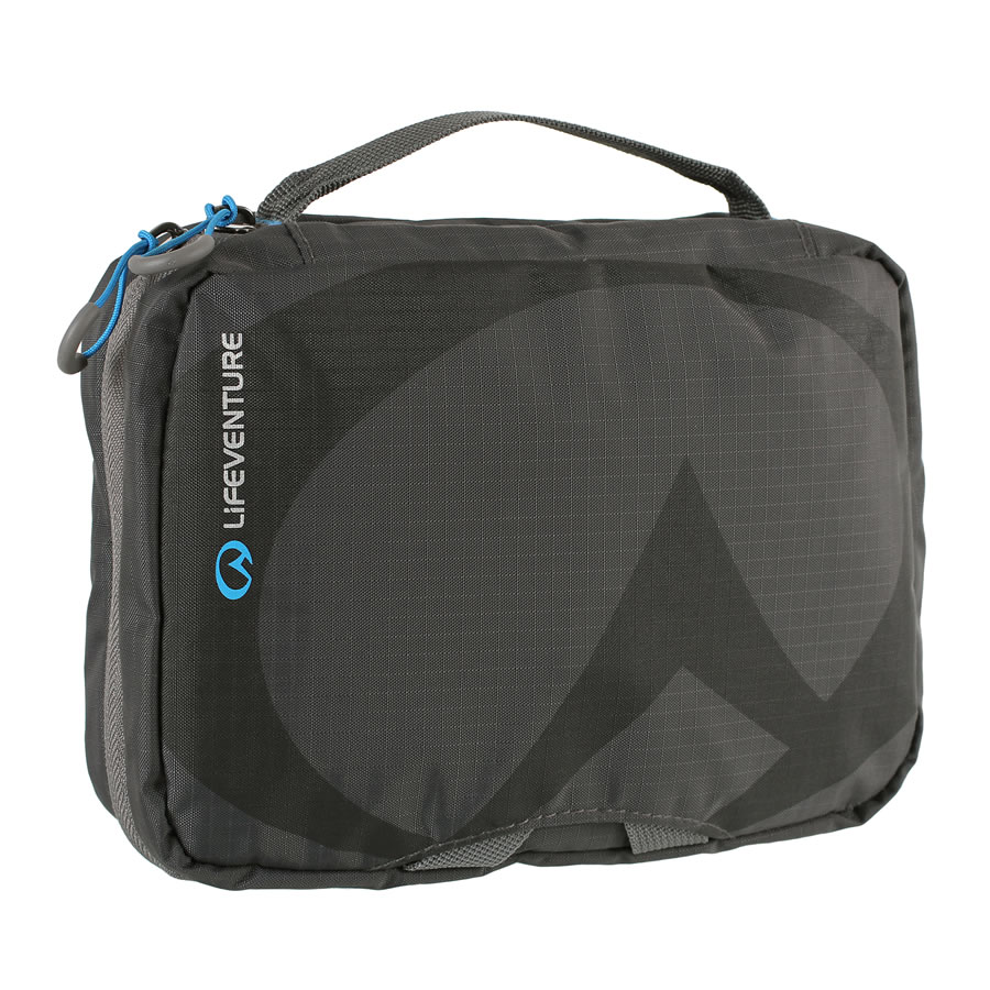 Lifeventure Small Travel Wash Bag - Grey
