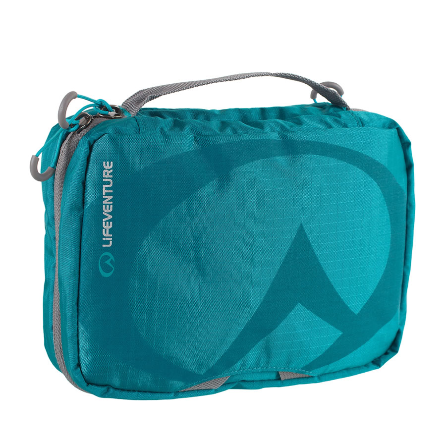 Lifeventure Small Travel Wash Bag - Petrol