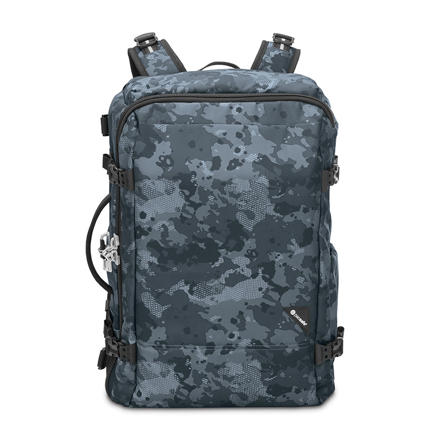 Pacsafe Vibe 40 Travel Rucksack - Grey Camo