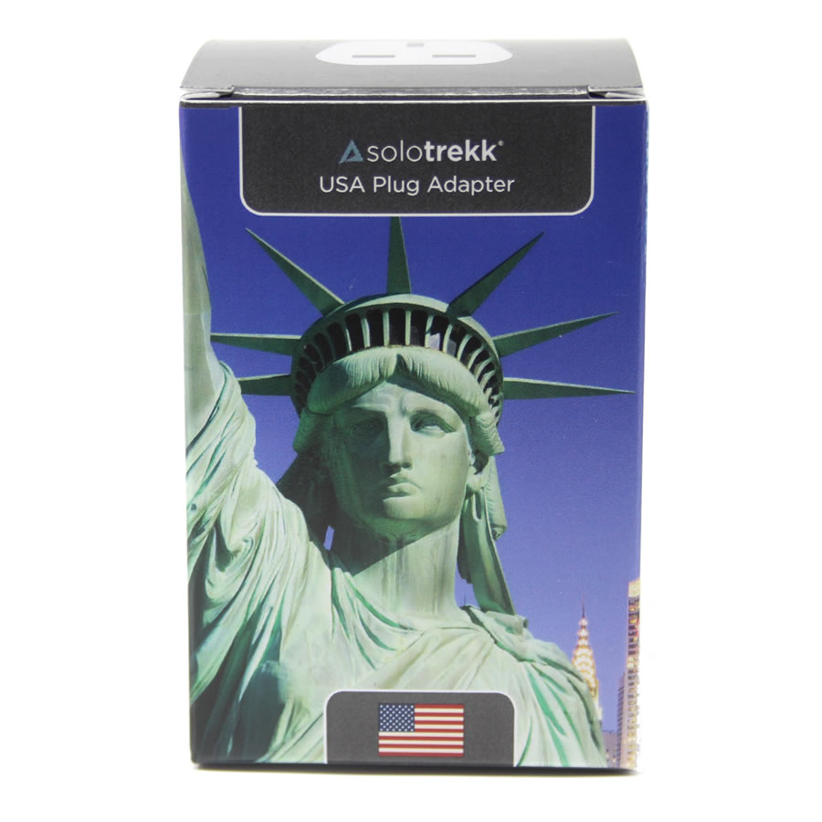 Solotrekk USA Travel Plug Adapter x 2