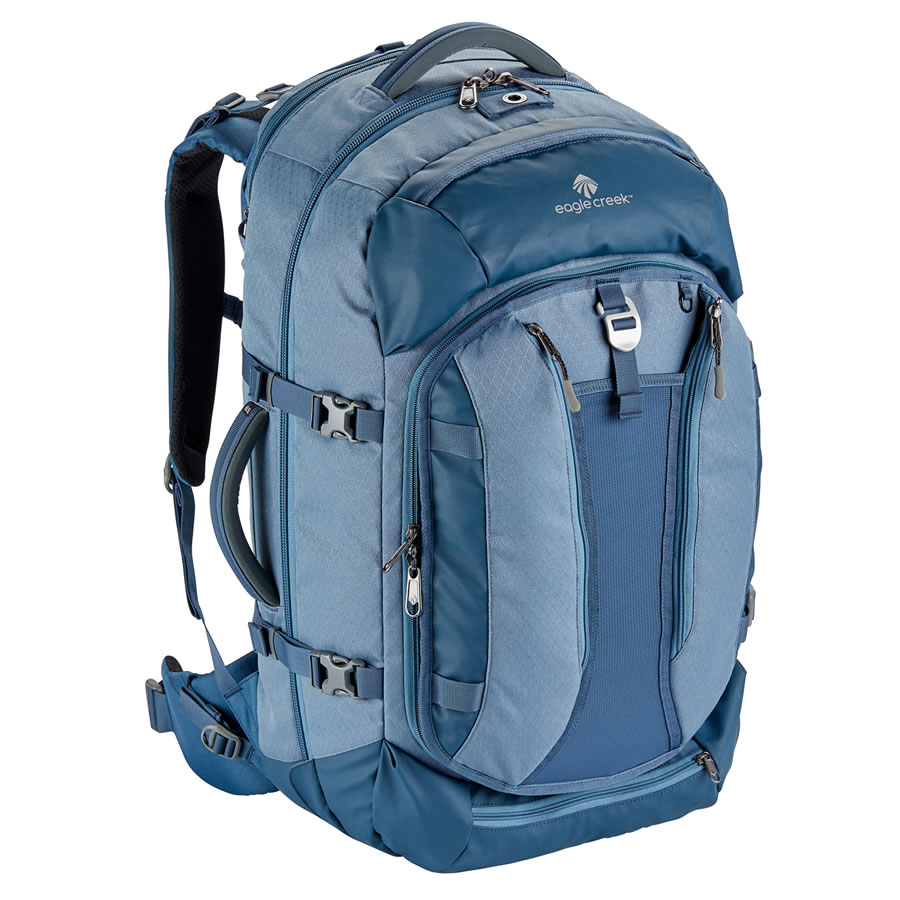 Eagle Creek Global Companion 65L Travel Pack - Smokey Blue