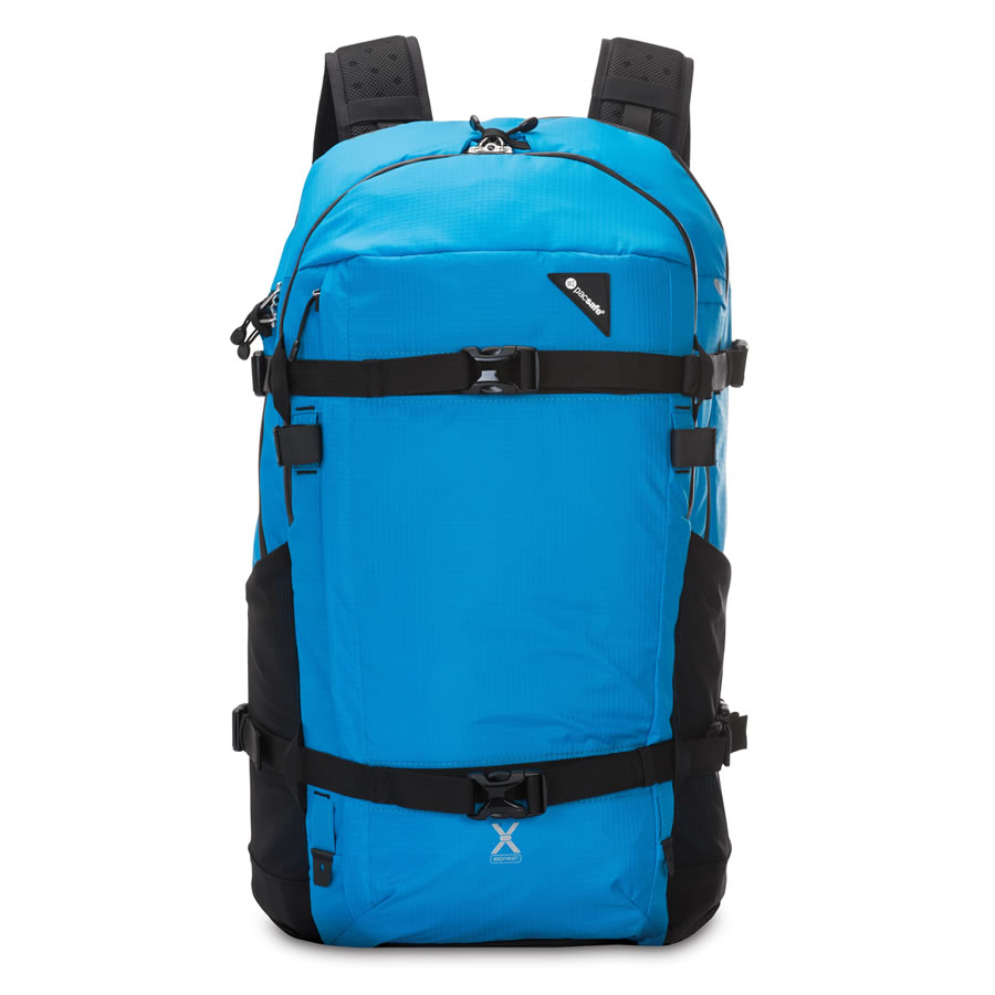 Pacsafe Venturesafe X40 Plus Travel Rucksack - Hawaiian Blue