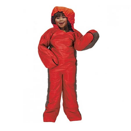 Summit Red Kids Motion Sac Sleeping Bag