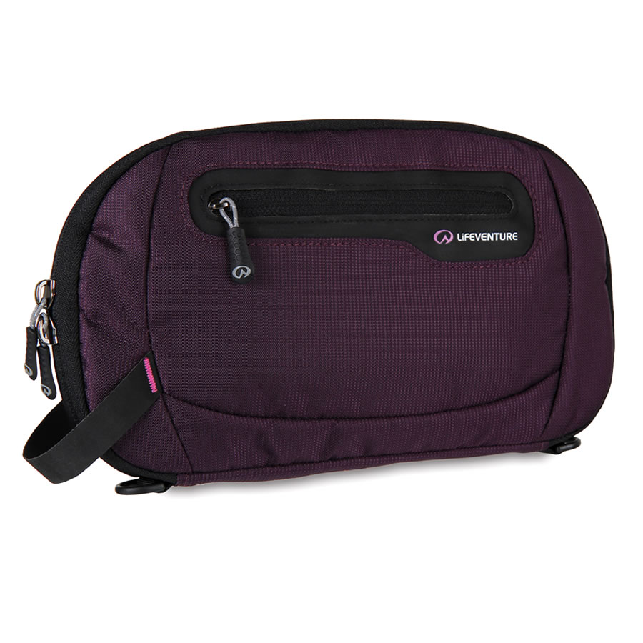 Lifeventure RFID Protected Document Wallet - Purple