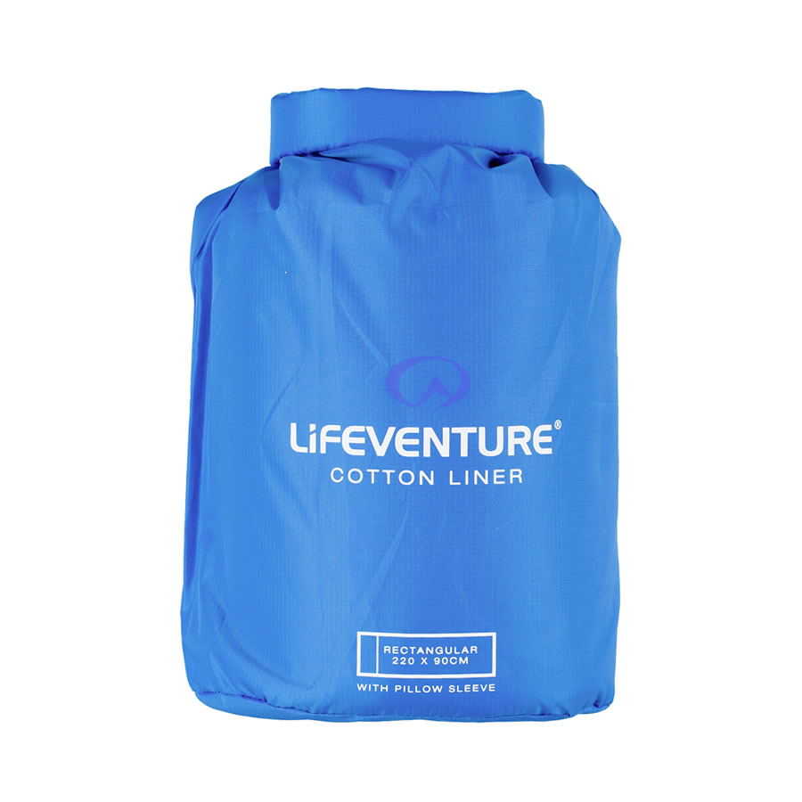 Lifeventure Cotton Travel Sleeper - Rectangle
