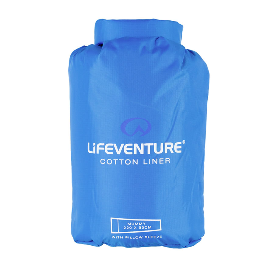 Lifeventure Cotton Travel Sleeper - Mummy