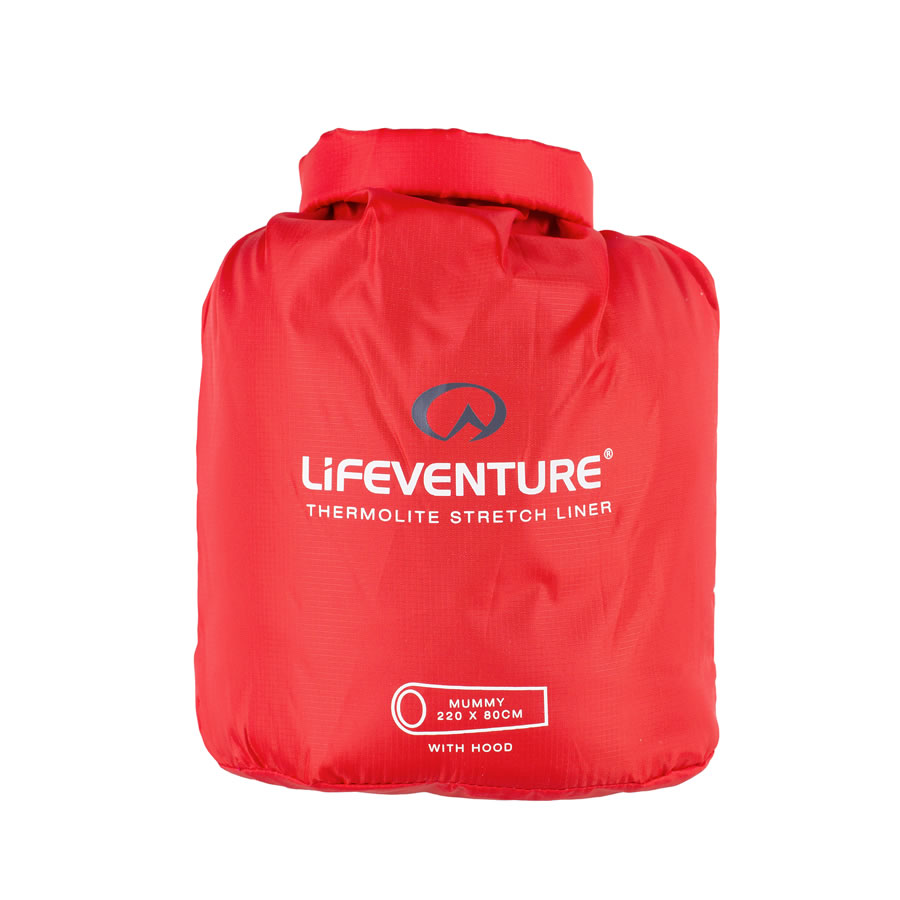 Lifeventure Thermolite Stretch Sleeping Bag Liner