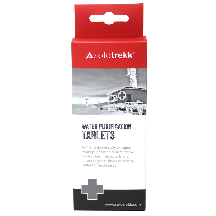 Solotrekk Water Purification Tablets