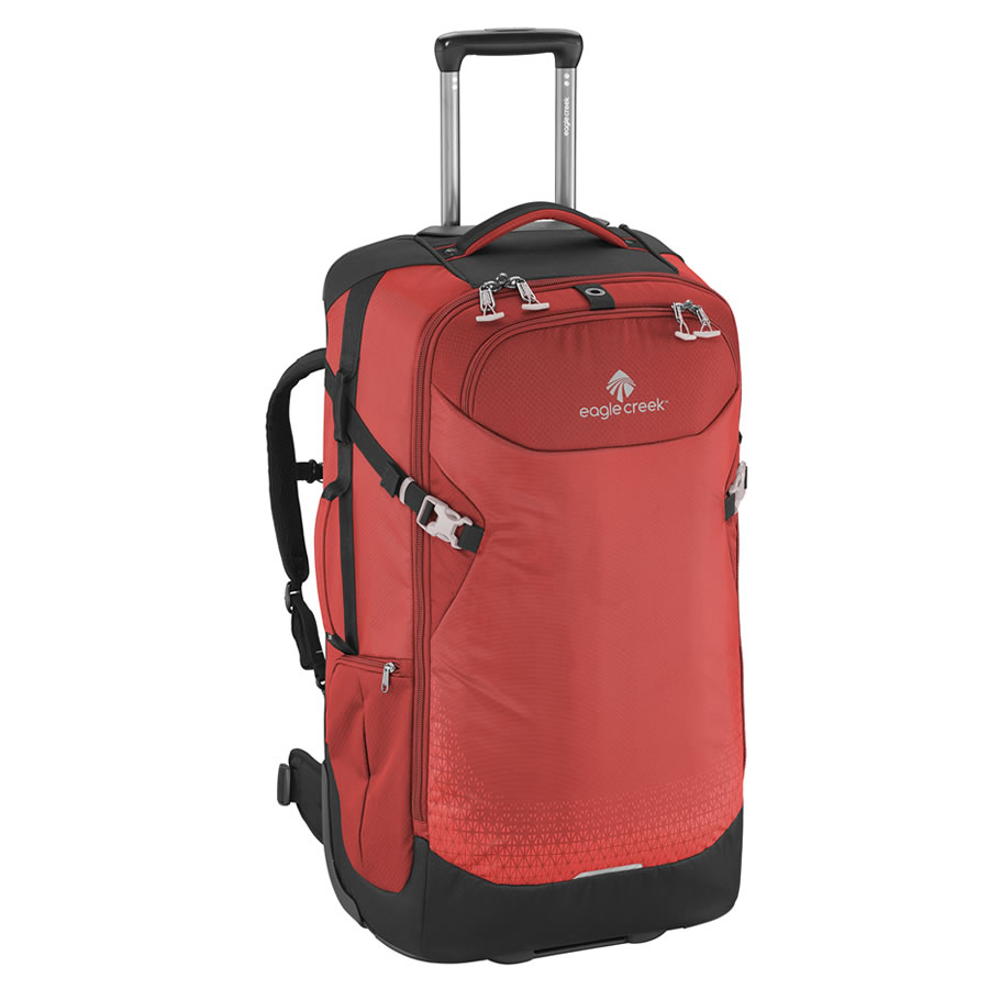 Eagle Creek Expanse Convertible 29 Wheeled Rucksack - Volcano Red