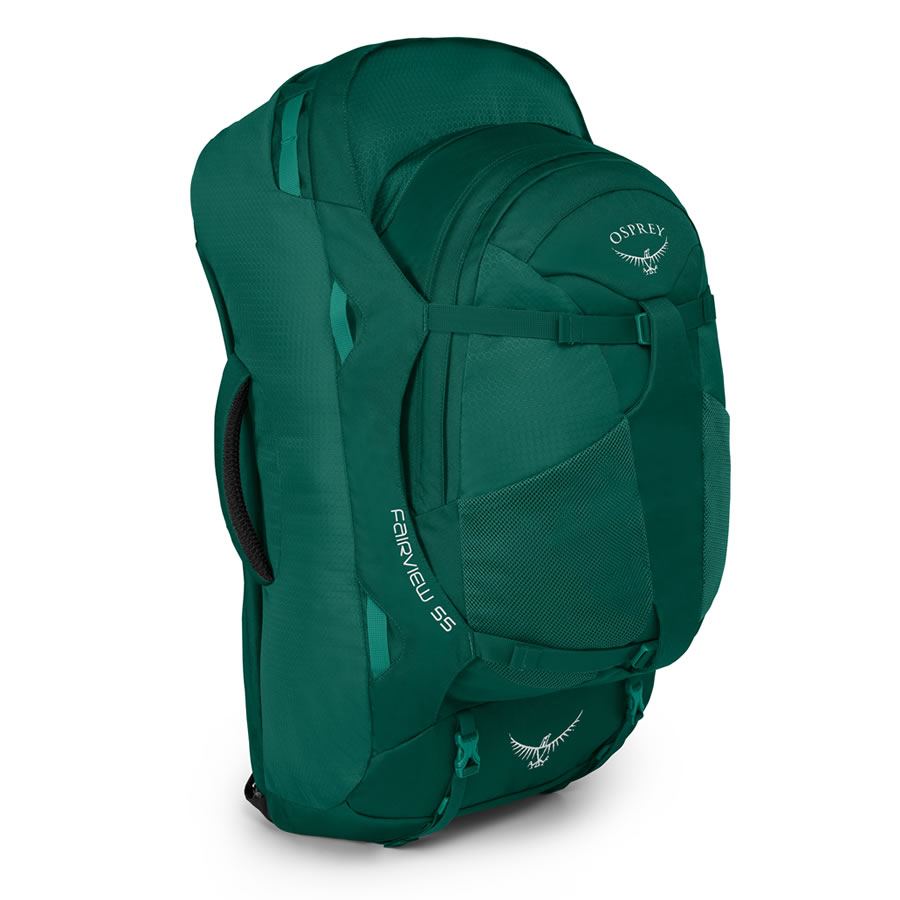 Osprey Fairview 55 Women's Travel Rucksack - Rainforest Green